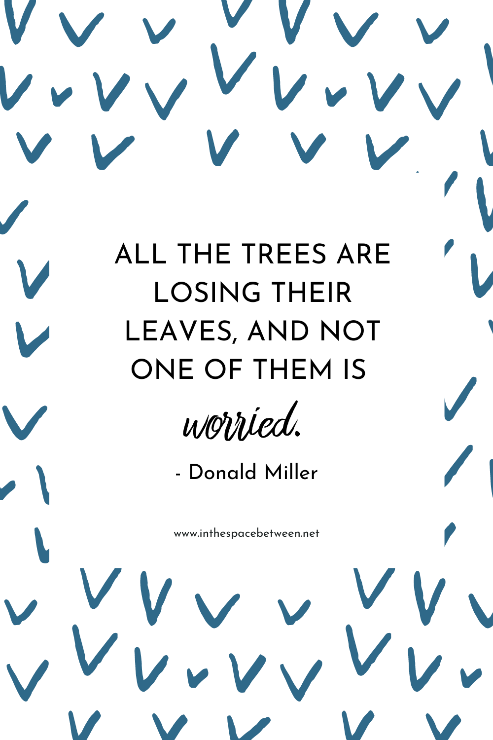 Donald Miller Quote about Fall